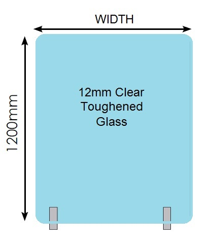 Cat1 Product1-12 x 1200H-Frameless-Glass-Panel